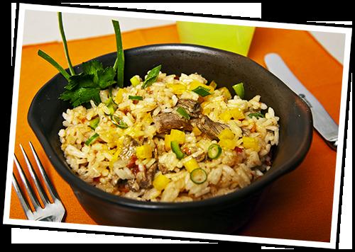 Resultado de imagen para arroz salteado
